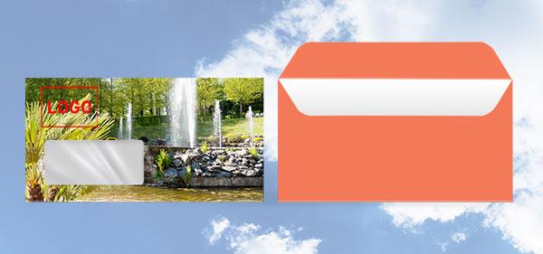 Briefumschläge online gestalten und drucken