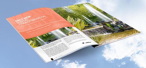 Magazine und Kataloge online gestalten und drucken