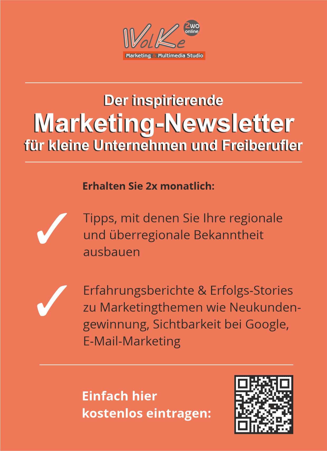 Postkarten für Newsletteranmeldung nutzen