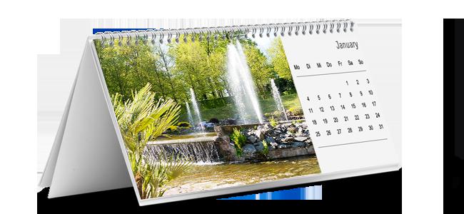 Individuelle Firmen-Tischkalender drucken lassen