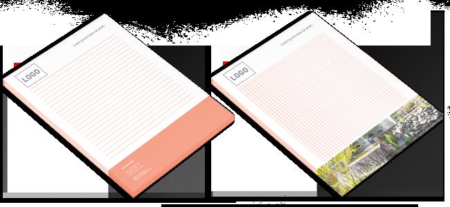 Schreibblöcke und Selbstdurchschreibe-Sätze mit Blockleimung anfertigen lassen